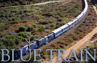 Luxury Rail Safaris Africa with the Blue Train