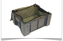 Camp Cover Canvas Bags and Protective Storage Solutions - Ammo Box Lining