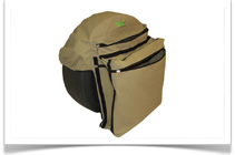 Camp Cover Canvas Bags and Protective Storage Solutions - Spare Wheel Bin Bag