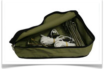 Camp Cover Canvas Bags and Protective Storage Solutions - Tent Peg Bag