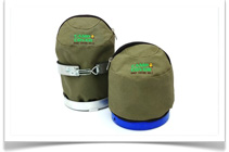 Camp Cover Canvas Bags and Protective Storage Solutions - Gas Bottle Dust Cover