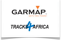 CASKA Navigation Garmap Tracks4Africa