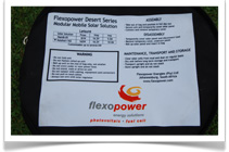 Flexopower Mobile Camping Solar Panels