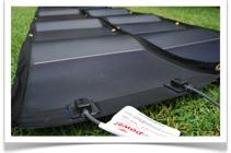 Solar Panel Camping Kit