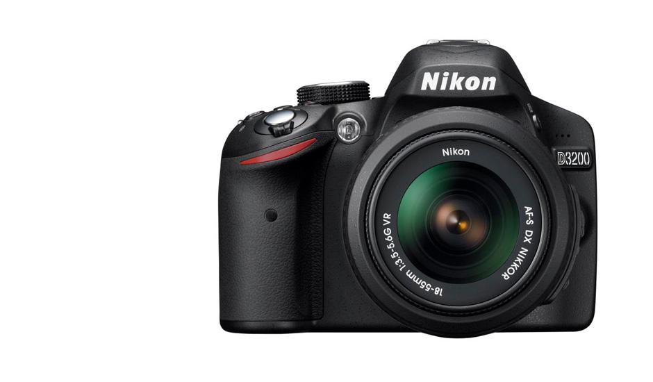 The new Nikon D3200