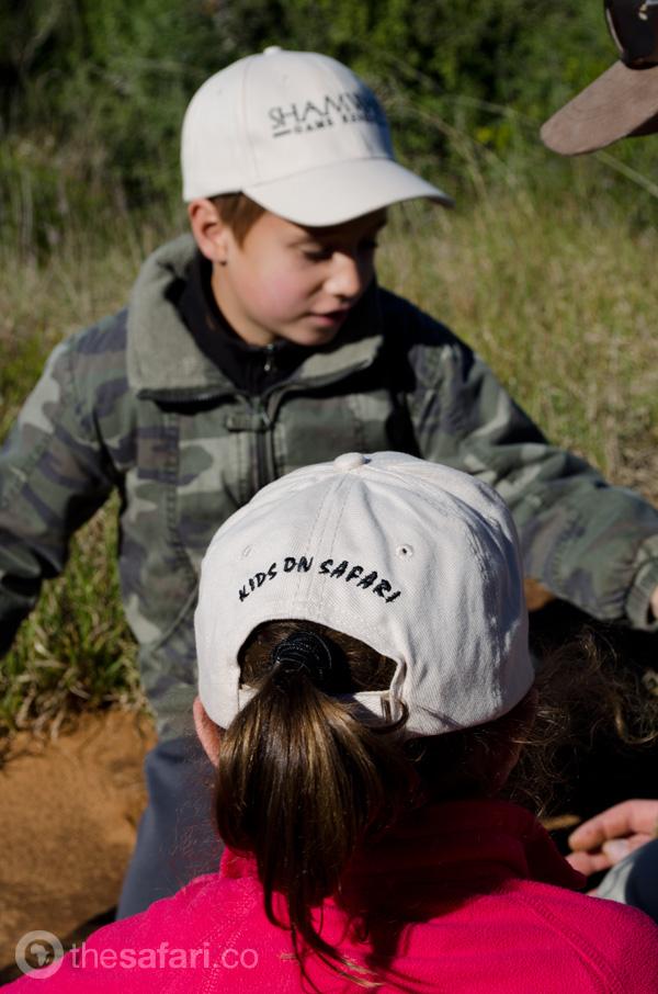 Kids on Safari at Shamwari