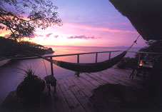 Lake Malawi Islands - Mumbo Island Deck